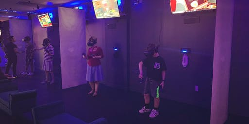 Families Play together in VR