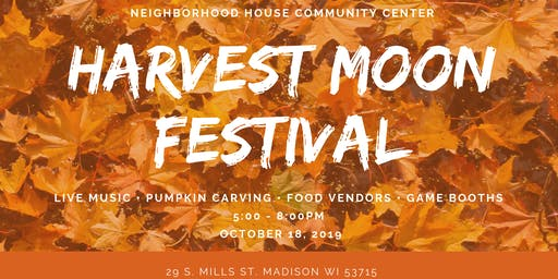 Harvest Moon Festival at Neighborhood House