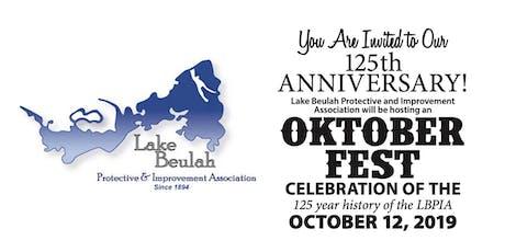LBPIA 125th Anniversary Oktoberfest tickets