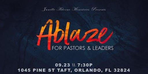 Ablaze Pastors & Leaders Gathering