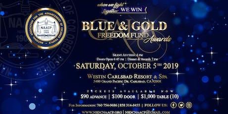 54th Annual Blue & Gold Freedom Fund Gala tickets