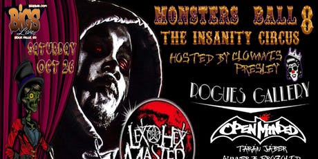 Monsters Ball 8 tickets