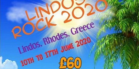 Lindos Rock 2021 tickets