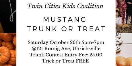 Twin Cities Kids' Coalition Mustang Trunk Or Treat tickets