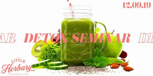 Holiday Detoxification Seminar