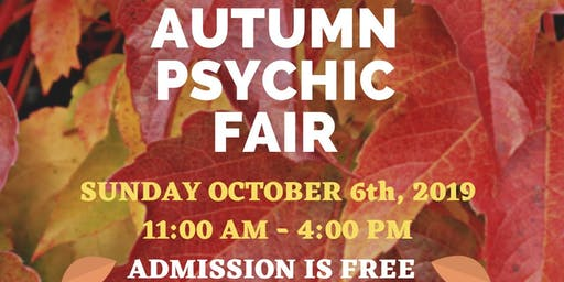 Autumn Psychic Fair