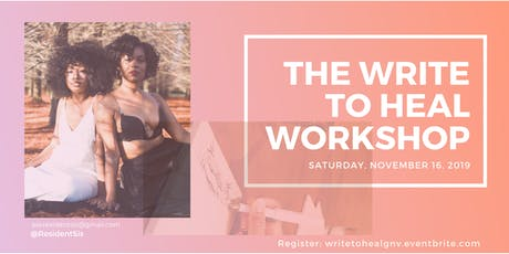 The Write to Heal Workshop tickets