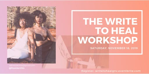 The Write to Heal Workshop