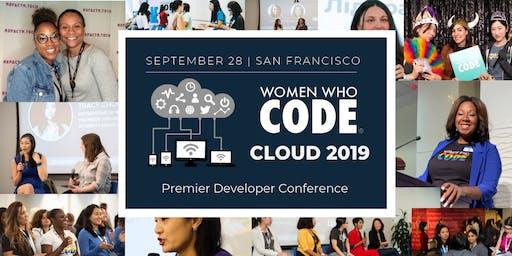 Women Who Code Cloud 2019