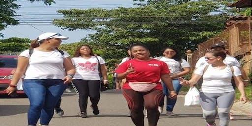 Caminata a beneficio de la Fundación Hogar San José de Cabullita