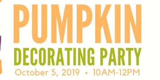 SPNS Pumpkin Decorating Party