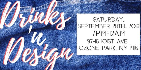 Drinks and Design-B.Y.O.D. (BRING YOUR OWN DENIM) tickets