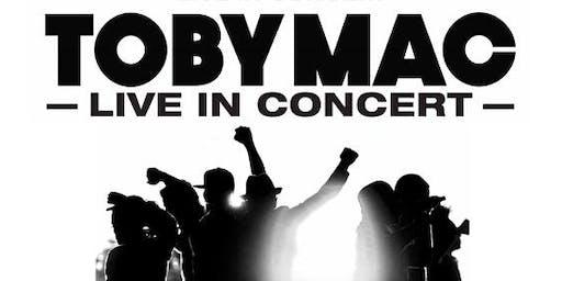 Volunteer at the Toby Mac Concert in Winnipeg, MB