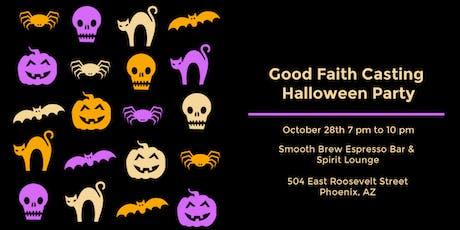 Good Faith Casting Halloween Party 2019 tickets