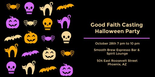 Good Faith Casting Halloween Party 2019