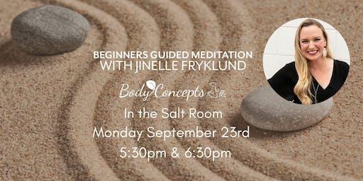 Salt Room Guided Meditation