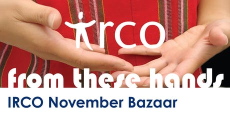 From These Hands - IRCO November Bazaar Vendor Registration tickets
