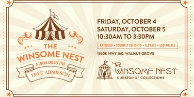 The Winsome Nest - Antique and Collectible Pop-Up Shop