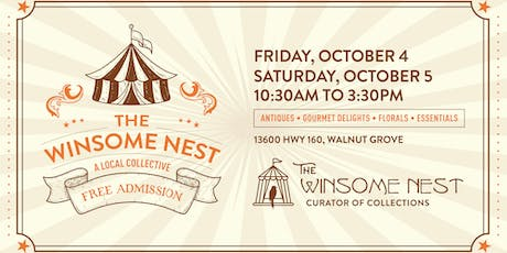 The Winsome Nest - Antique and Collectible Pop-Up Shop tickets
