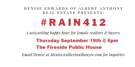 Real Estate Agents And Investors Network, R.A.I.N. tickets