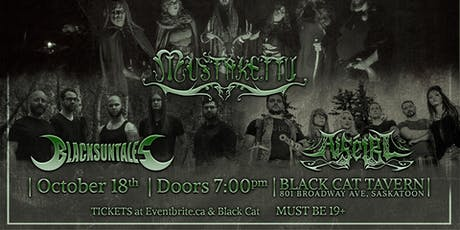 Mustakettu, Black Sun Tales and Aiséiri - Saskatoon tickets