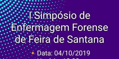 I SIMPÓSIO DE ENFERMAGEM FORENSE (LAEF - UNEF)