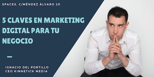 Claves del Marketing Digital para impulsar tu negocio