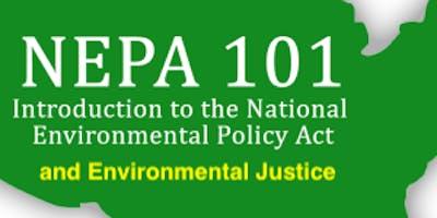 Invite to NEPA 10-5-19 Webinar & 10-19-19 Workshop By EPA