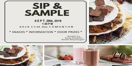 Healthy Happy Hour Sip & Sample tickets