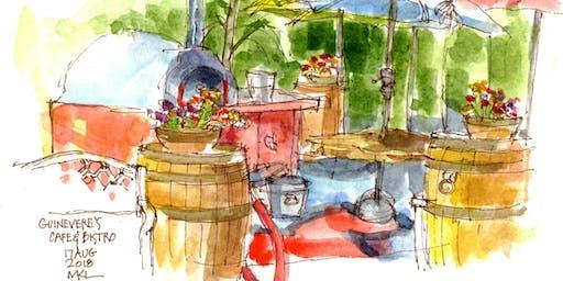 Urban Sketching with Marlene Lee