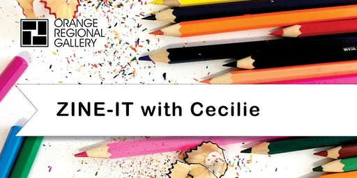 SCHOOL HOLIDAY WORKSHOP - ZINE-IT with Cecilie