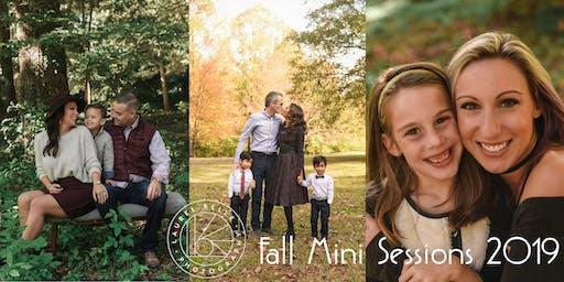 Fall Portrait Mini Sessions  -  October 13th (Sunday)