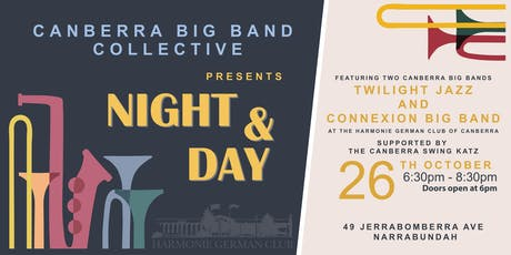 Canberra Big Band Collective: Night & Day tickets