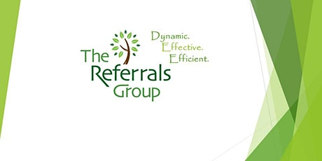 The Referrals Group (CHA5) Meeting tickets