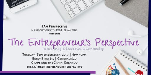 The Entrepreneur: Networking, Discussion and Community