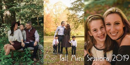 Fall Portrait Mini Sessions  -  October 27th (Sunday)