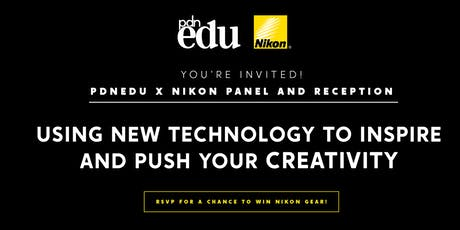 PDNedu x Nikon Present: Using New Technology to Inspire and Push Your Creativity tickets