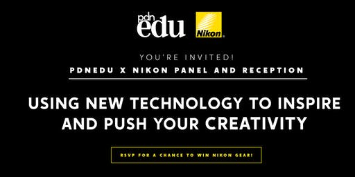 PDNedu x Nikon Present: Using New Technology to Inspire and Push Your Creativity