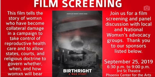 Woman's Healthcare:  Film Screening and Panel