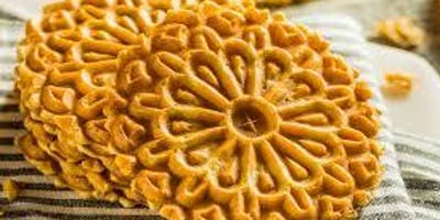 Italian Sweet Traditions: Let's make PIZZELLE (Sunday Nov. 10th, 2019 at 11am)