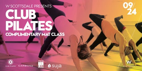 Free Club Pilates Mat Class tickets