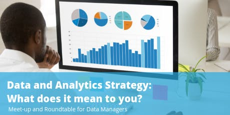 Data & Analytics Strategy: What does it mean to you? tickets