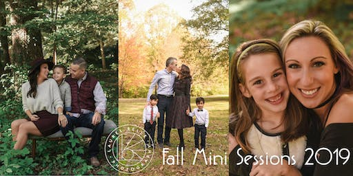 Fall Portrait Mini Sessions  - November 16th + 17th