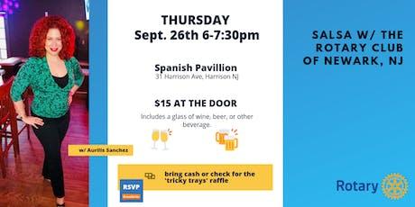 Salsa Night w/ the Rotary Club of Newark tickets