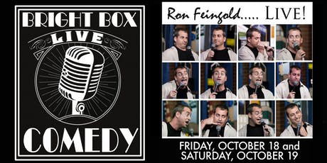 Bright Box Comedy: Ron Feingold tickets