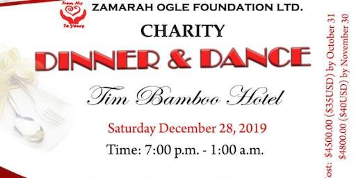 Zamarah Ogle Foundation Charity Dinner & Dance