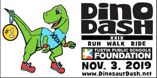 Tustin Public Schools Foundation Hosts 29th DINO DASH, November 3