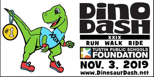 Tustin Public Schools Foundation Hosts 29th DINO DASH, November 3