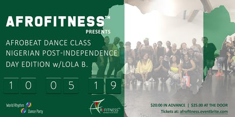 Afrobeat Dance Class/Nigeria Post-Independence Day Edition tickets