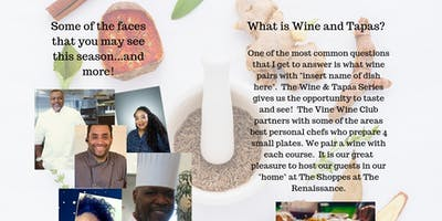 Wine and Tapas: Wines of California with Breon Berry